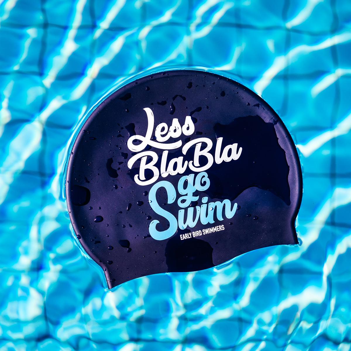 af3cbffaa93b49 LESS BLA BLA, SWIM CAP - Early Bird Swimmers