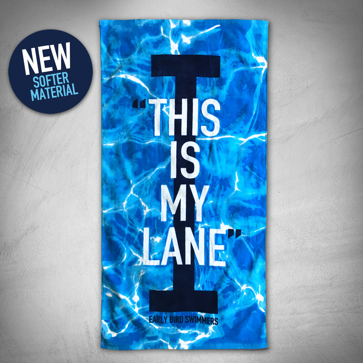 fb7751c8c0b5f6 THIS IS MY LANE TOWEL - Early Bird Swimmers
